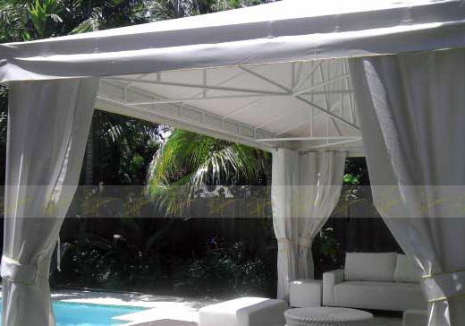 Miami Pool Cabanas: Cabañas de Piscina en Miami & Miami Canopies